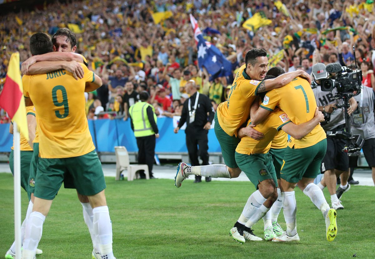 The Socceroos are champions of Asia! http://t.co/G4sjue7v4Y