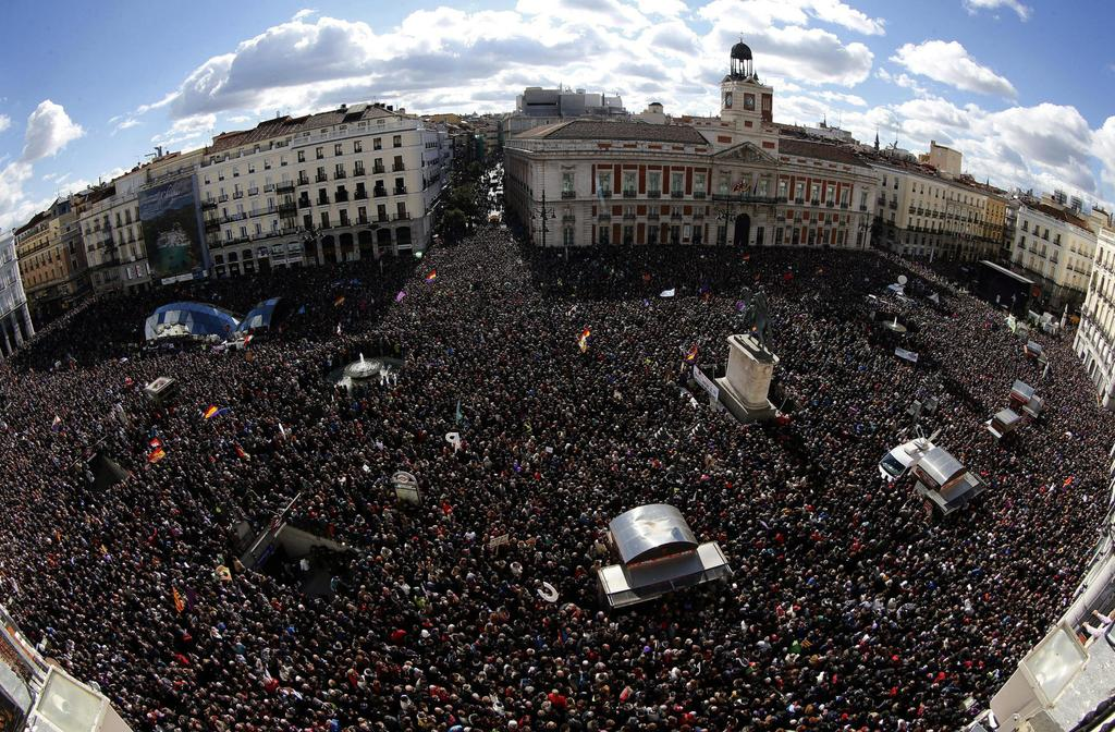 Démonstration de force de @ahorapodemos à Madrid #EsAhora31E http://t.co/ZYTSjFAYjY