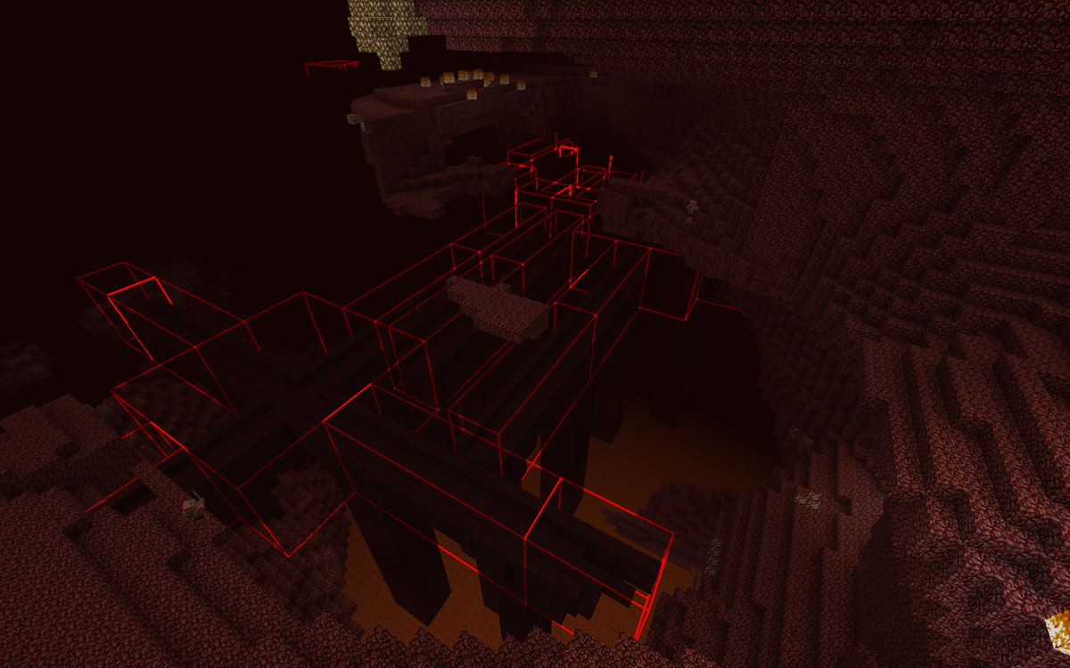 Bounding Box Outline Reloaded Mod for Minecraft - Minecraft