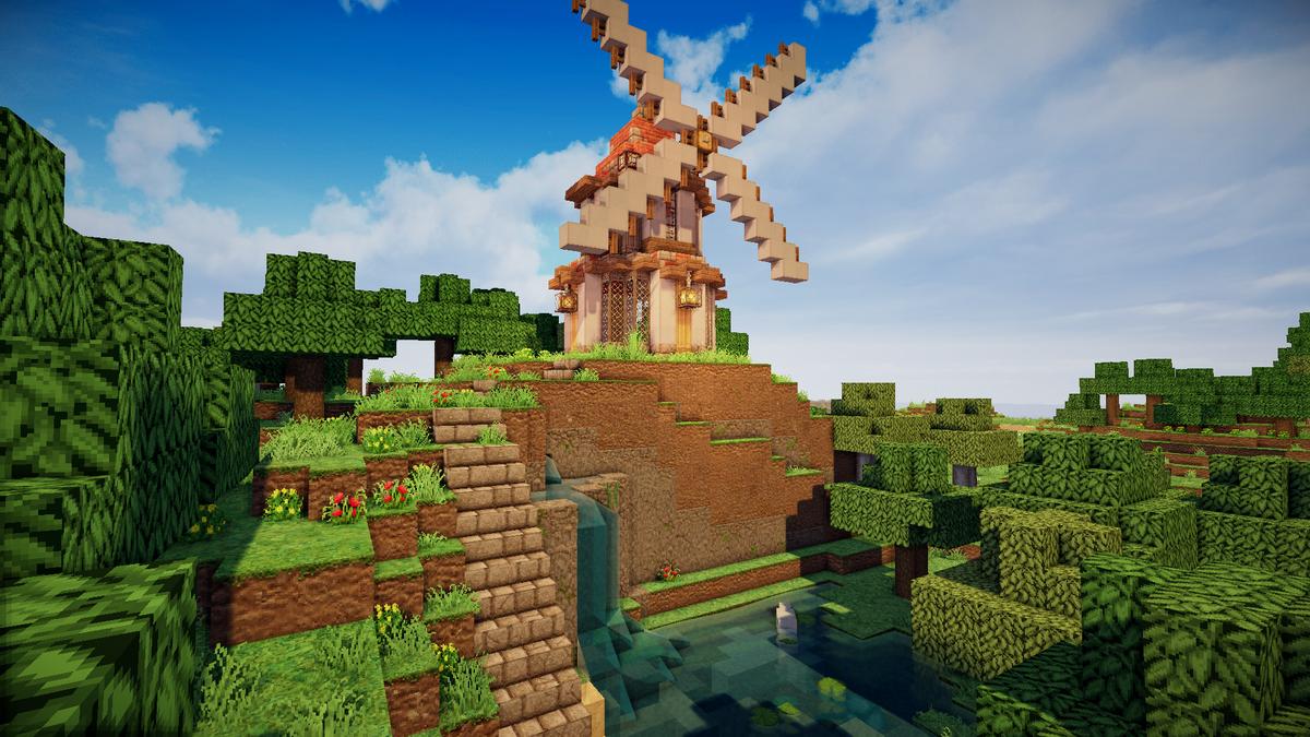 マイクラ 風車
