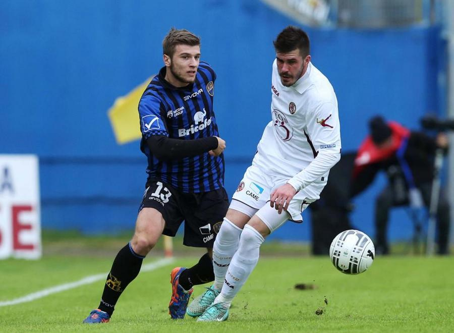 Ristovski is shown during the game