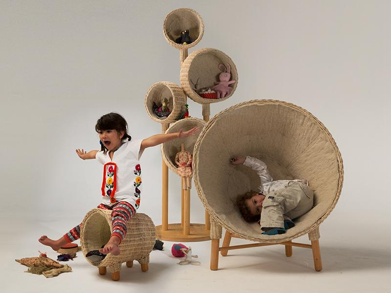 """Traven Family Baskets by Christian Vivanco, """"recognizing the importance of play time"""" http://t.co/wZUIiVB1eB #wicker http://t.co/X3kS5tMAeo"""