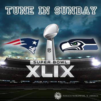 Tune in tomorrow to see what #PublicisSeattle has cooked up for @TMobile's #SuperBowl spot. #SuperBowlXLIX http://t.co/20OLTW8Hwg