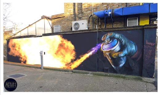 Fun street art turned into animations - take a look: http://t.co/k2gCgboSCi #art #design http://t.co/dfa0XKVnGk