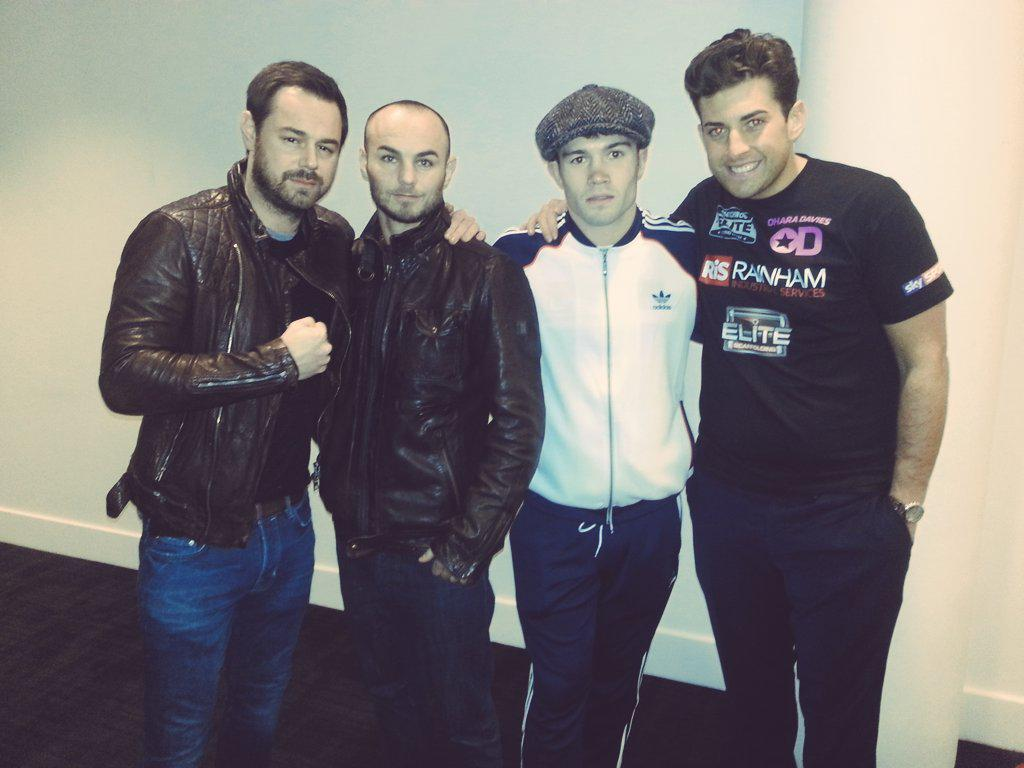RT @MatchroomBoxing: .@mrddyer & @RealJamesArgent popped in to support @KevinMitchell6 & @_John_Ryder_ earlier #CapitalPunishment http://t.…