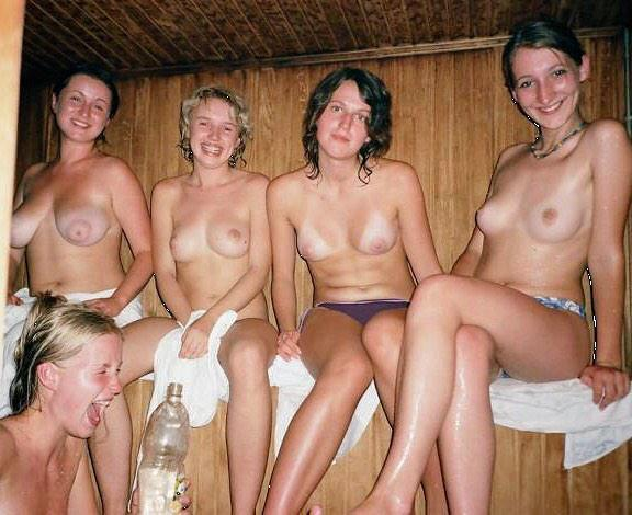 topless friends