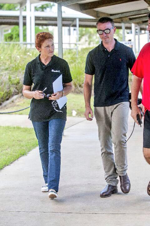 Pauline Hanson & James Ashby