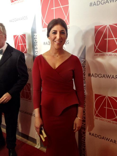 RT @ADG800: .@missmayim on the red carpet #ADGawards http://t.co/tIGLewyLgf