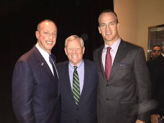 Bill Polian, 2015 Hall of Famer, flanked just now by his two franchise QBs, Jim Kelly & Peyton Manning http://t.co/dKSQWBUQVJ