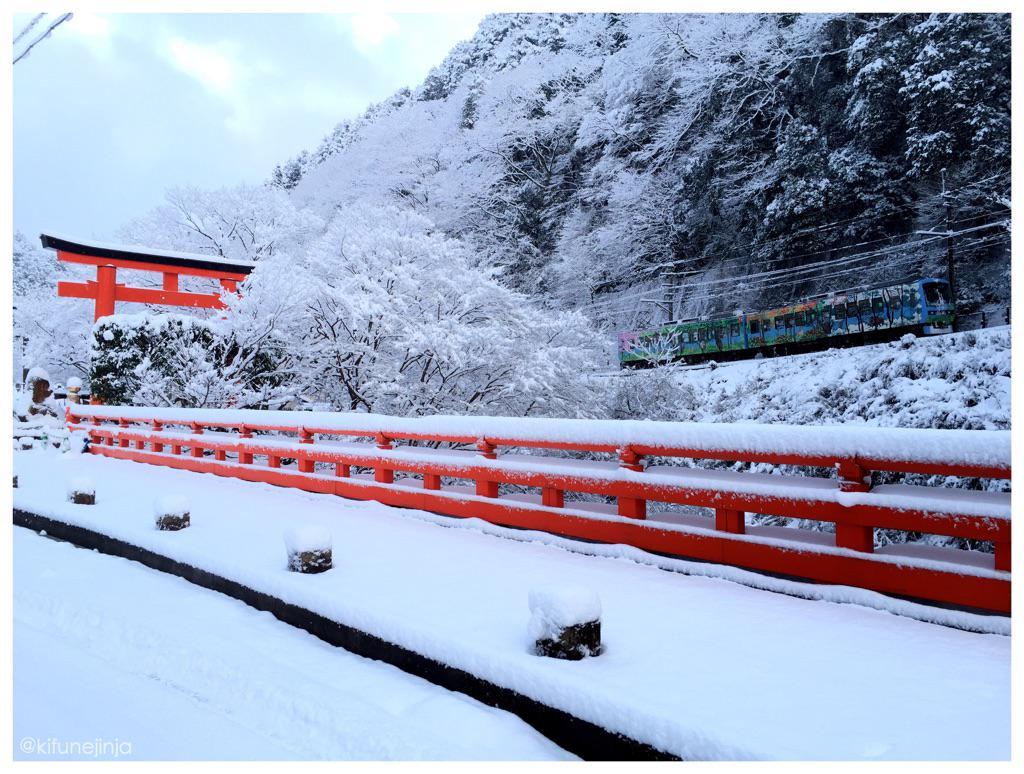 今朝の一枚。〈貴船神社 一の鳥居〉(平成27年 2月1日 早朝撮影) #氣生根 #貴船神社 #kifune pic.twitter.com/cO6zFgLAh0