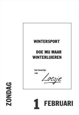 wintersport spreuken Loesje v/d Posters on Twitter: