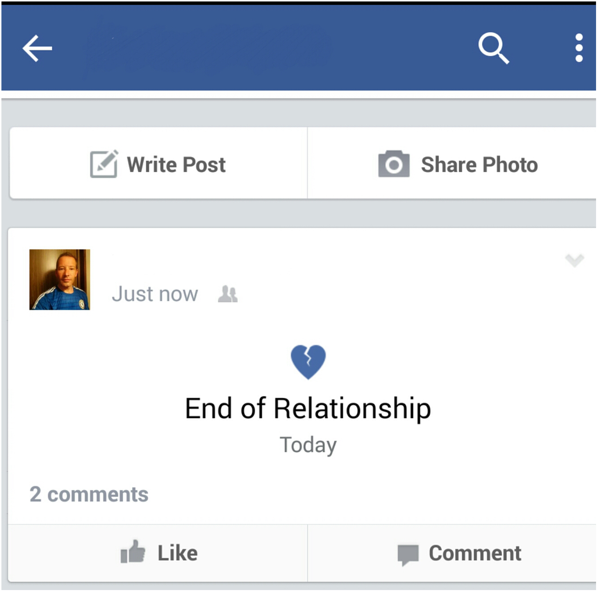 how to delete a pending relationship request on facebook