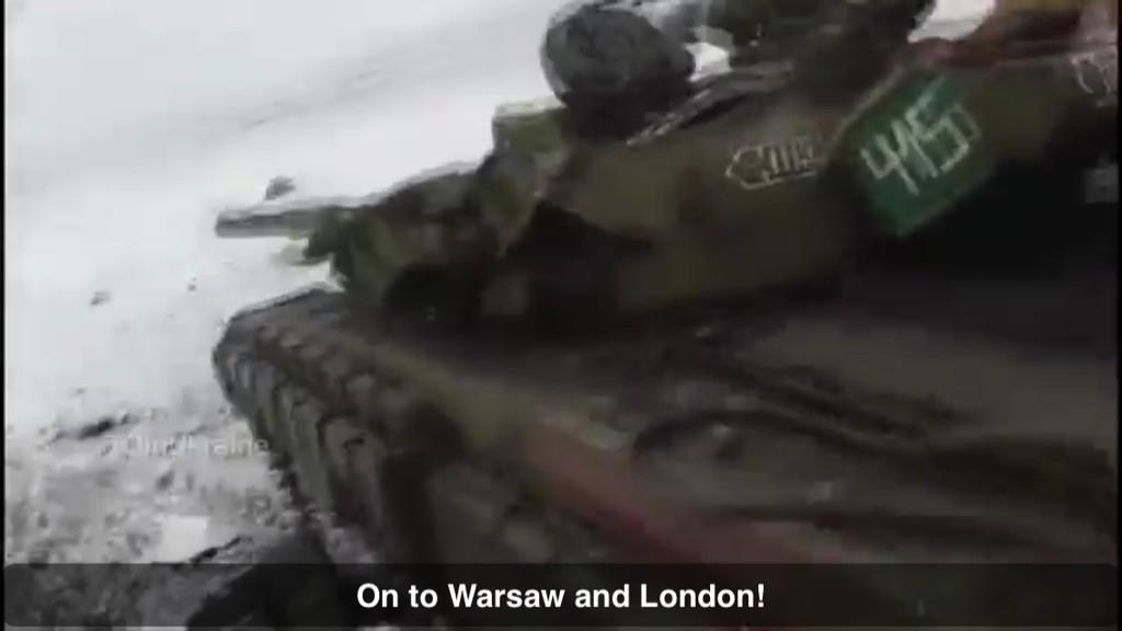@carlbildt @OSCE Russian separatist: 'Our tanks are going to Warsaw and London' https://youtube.com/watch?v=cboZkjhv6zQ…