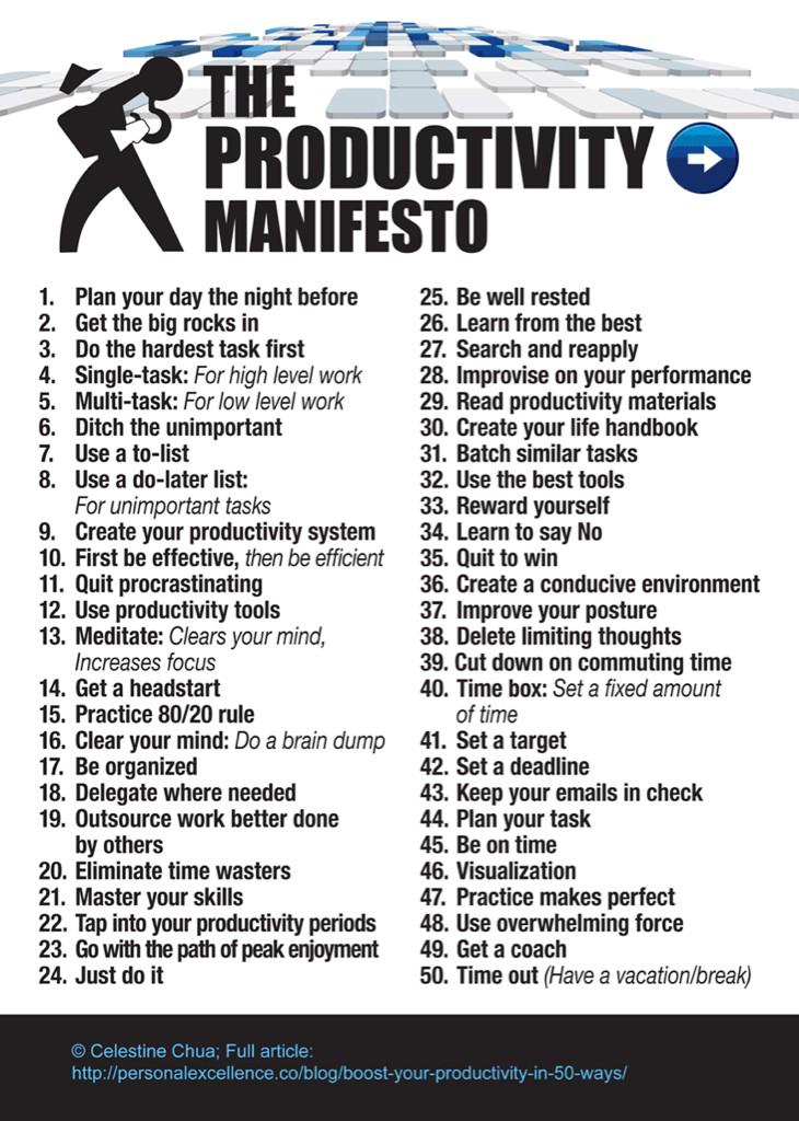 The #productivitymanifesto #aussieed something to focus on/strive towards for everyone. http://t.co/MnA1IO1hs2