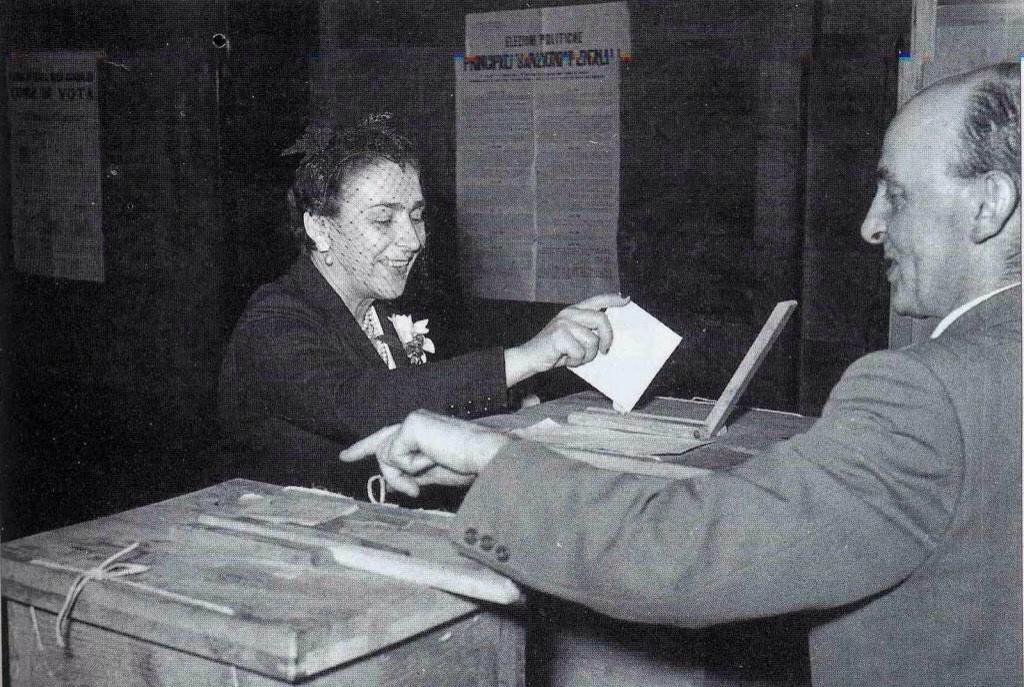 diritto di voto alle donne 1945