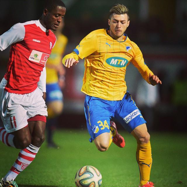 Nafiu during his debut