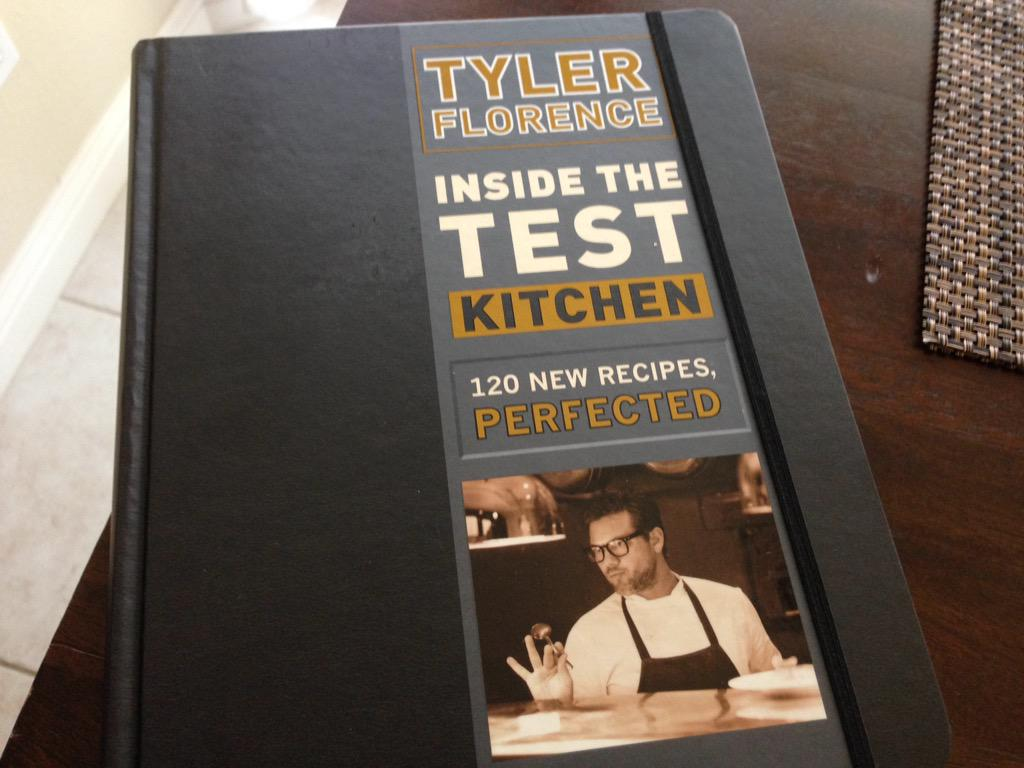 This finally arrived. So stoked to pick out a recipe to make  hoping to get it signed by @TylerFlorence one day http://t.co/z5agJhN7kP