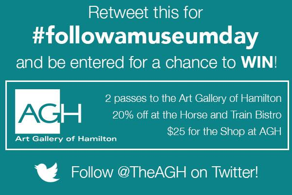 Today is #followamuseumday! #Retweet this post today & be entered for a chance to WIN! #followamuseum http://t.co/eZYgS5vdhS