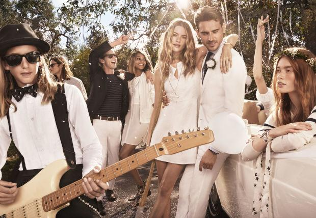 Tommy Hilfiger's Spring campaign may be the closest we get to Behati Prinsloo's wedding photos http://t.co/yXDD8xLD0A http://t.co/Kxo9EozdAW