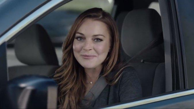 We #sorta love that @esurance ad with @lindsaylohan. http://t.co/Qh090PCyZw