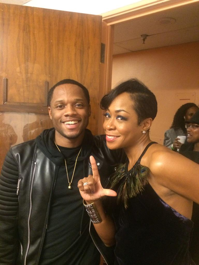 Good time with the fam @TichinaArnold supporting her #WeWinFoundation #LsUp http://t.co/SC38rJoTjJ