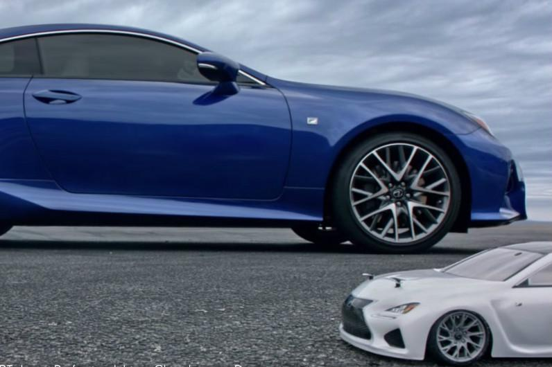 Stunt-driving toy Lexus drifts its way into a last-second #SuperBowl buy http://t.co/nJ2l2EEQQ5 http://t.co/M7ey5YuogO