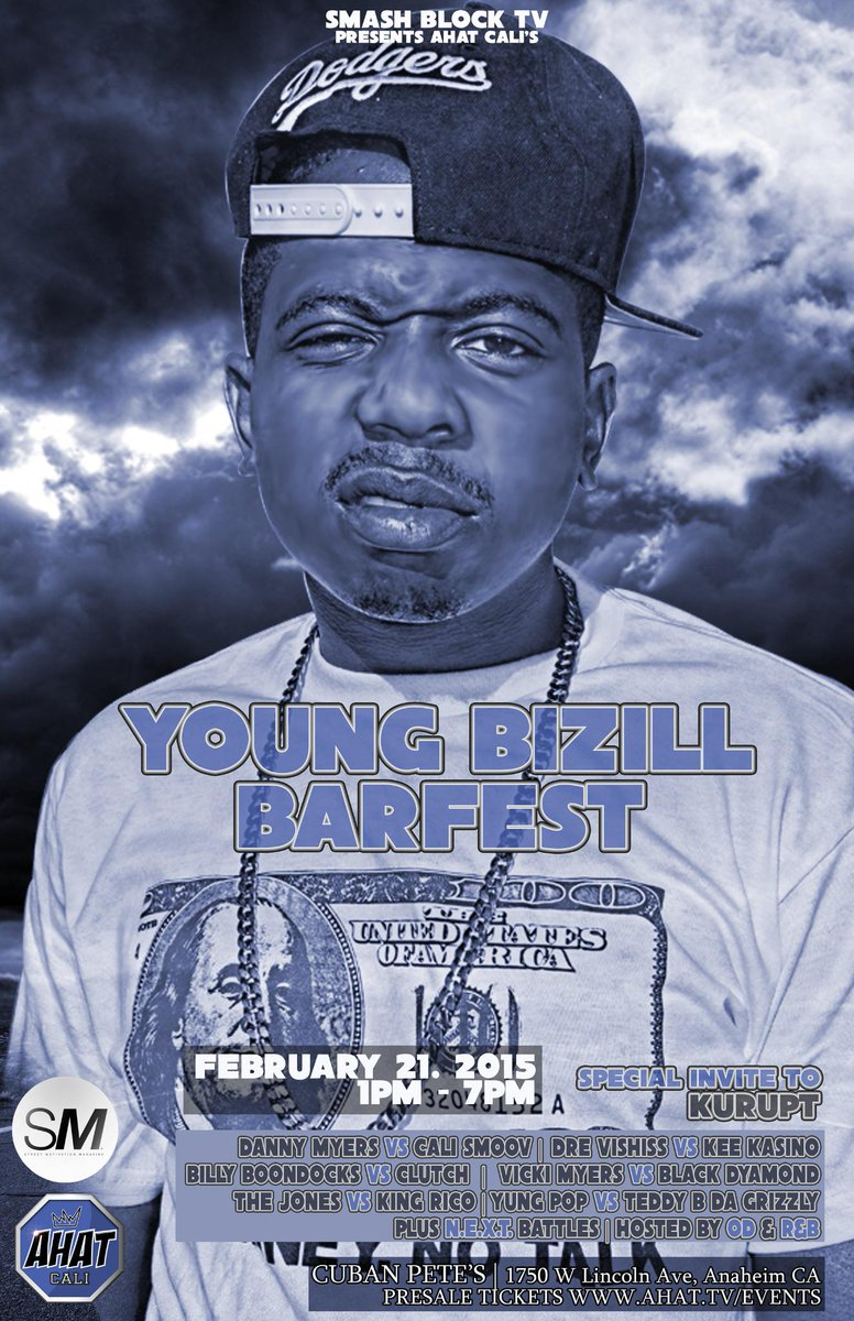 AHAT names annual event in honor of Young B the Future – Young Bizill Barfest http://t.co/ZWCeziiFvx http://t.co/AbSIl8Ze45