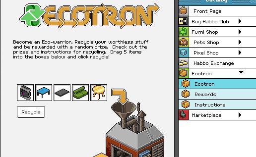 Iedere tweedehandswinkel is een Ecotron