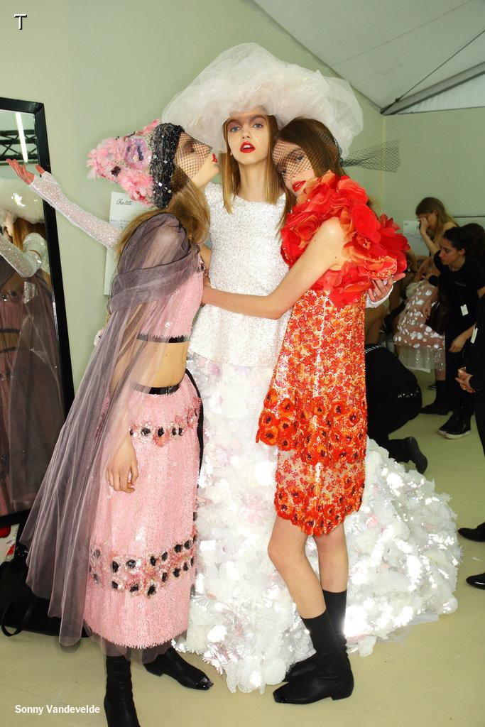 The Bride of Karl + other backstage shenanigans at @Chanel http://t.co/GfpDeM09Nt http://t.co/hWYdzTcjfz