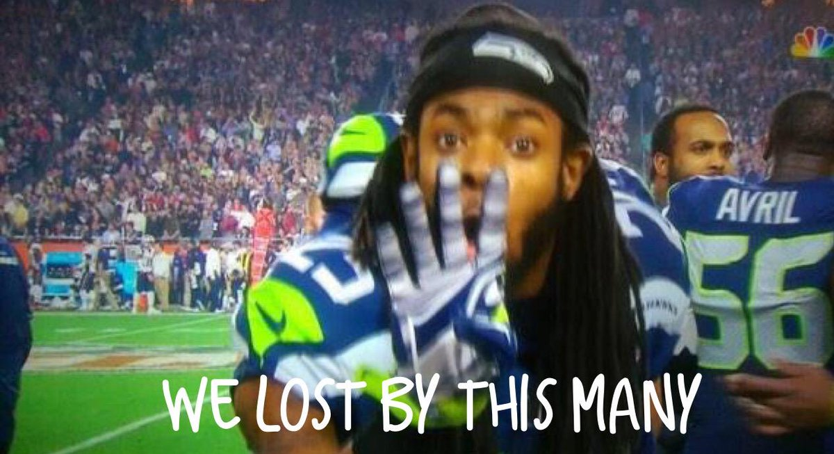 You lost by how many #Seahawks? You mad bro? http://t.co/Ur24WcmmjB