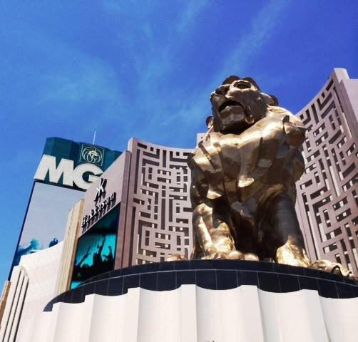 Don't panic, our lion is safe! #SB49 #cameo #biggame http://t.co/4ri5v1L8hw