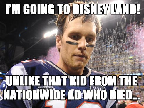 Tom Brady, you just won the #SuperBowl. What are you going to do now? http://t.co/CEzhkI3kzS