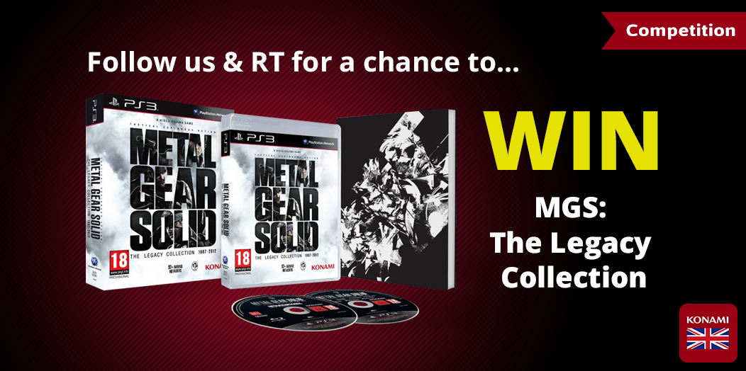 FOLLOW + RT for the chance to #WIN this #MGS Legacy Collection! Comp closes Fri 20th Feb at 4PM. http://t.co/StcDgK5yET