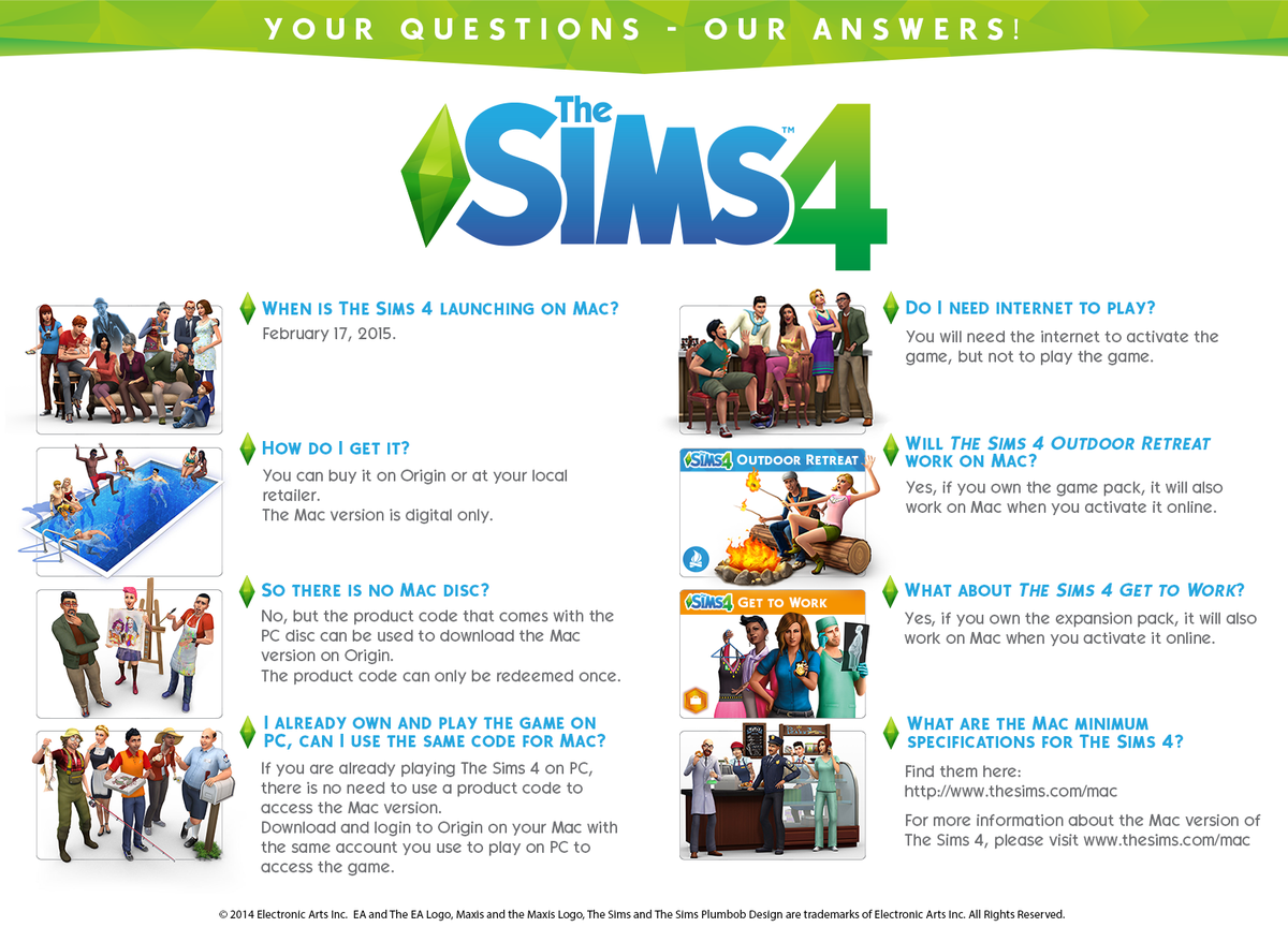 The Sims on Twitter: