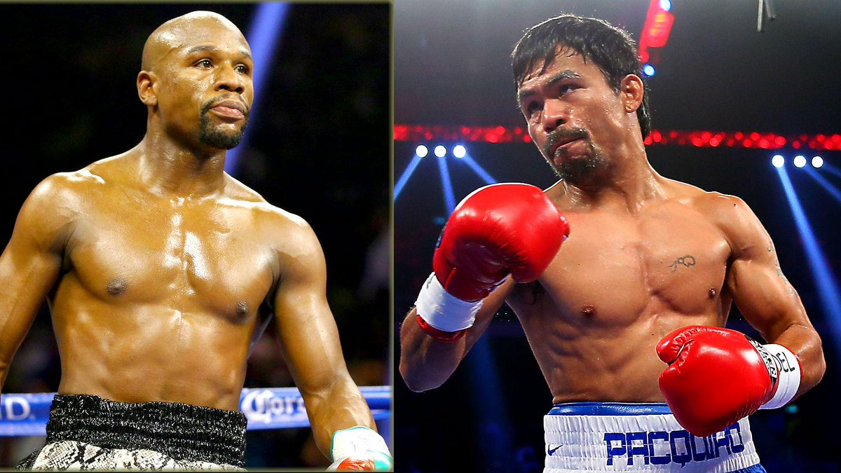 Report: Floyd Mayweather and Manny Pacquiao agree to $250 million Las Vegas fight.  http://t.co/Q7mJ8CY66A http://t.co/u90JpewwHR