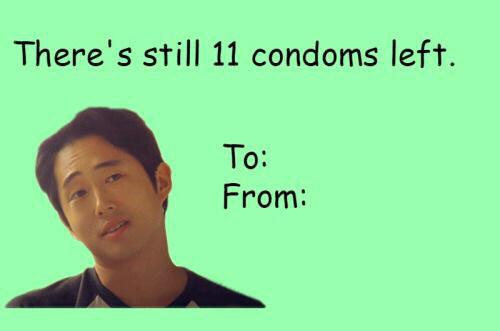 U201c@NewsOfTheDead: Happy Valentineu0027s Day! #TheWalkingDead  Pic.twitter.com/b0cf33B6sku201d