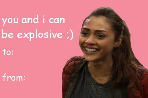 The 100 Reactions on Twitter the 100 valentines day cards win at
