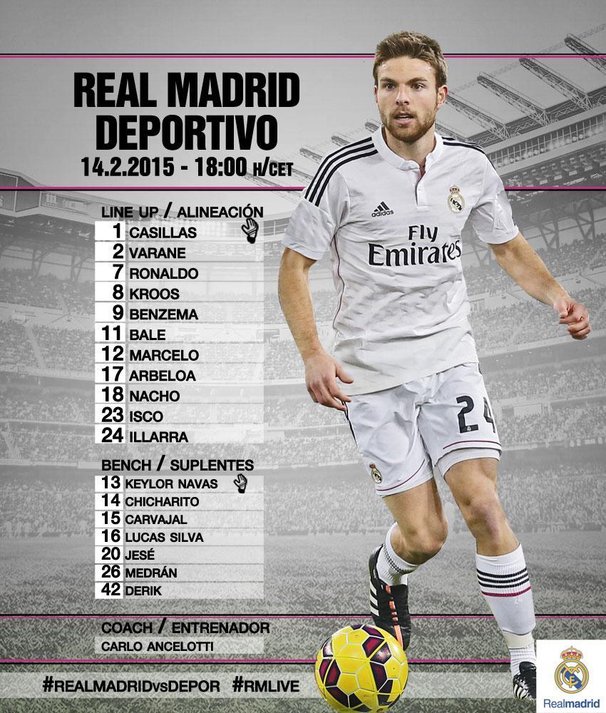 Real Madrid vs Deportivo Lacoruna B90NSZqIcAETCpF