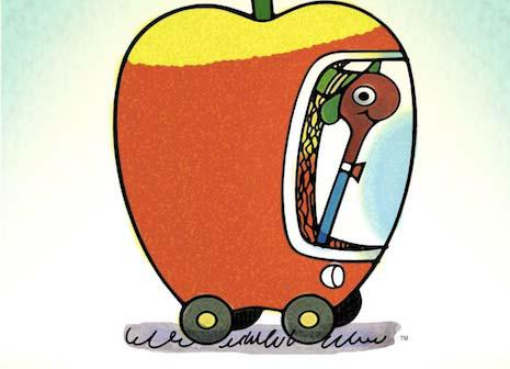 That was fast. Images of the Apple car prototype have already leaked: http://t.co/DKep9LRnsA