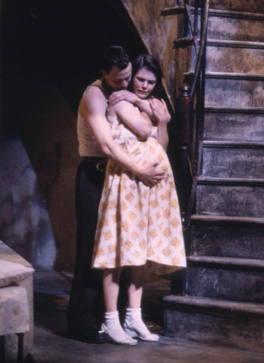 em's .@GarySinise Kathryn Erbe A STREETCAR NAMED DESIRE ('97) By TN Williams dir by em Terry Kinney Photo:Brosilow http://t.co/OjuuR2y5OY
