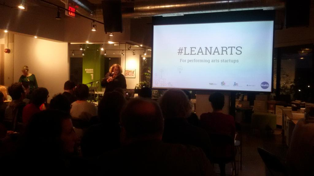 Congrats @christinaloewen and teams for market changing #LEANARTS #Toronto #leanstartup @MaRSDD http://t.co/RxG7vwMSrR
