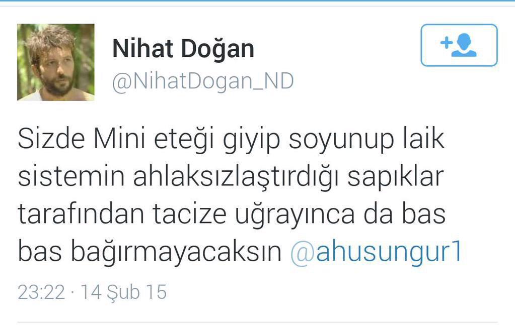 Nihat Dogan: een flikker
