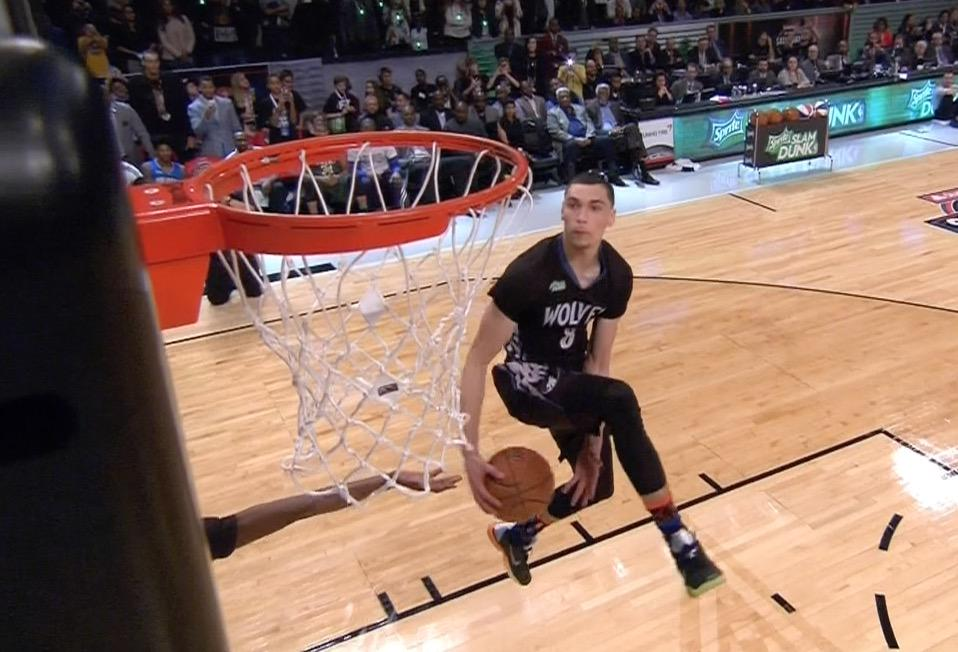 NBA Slam Dunk Contest 2015: Best Highlights and Reaction from Zach LaVine's Win