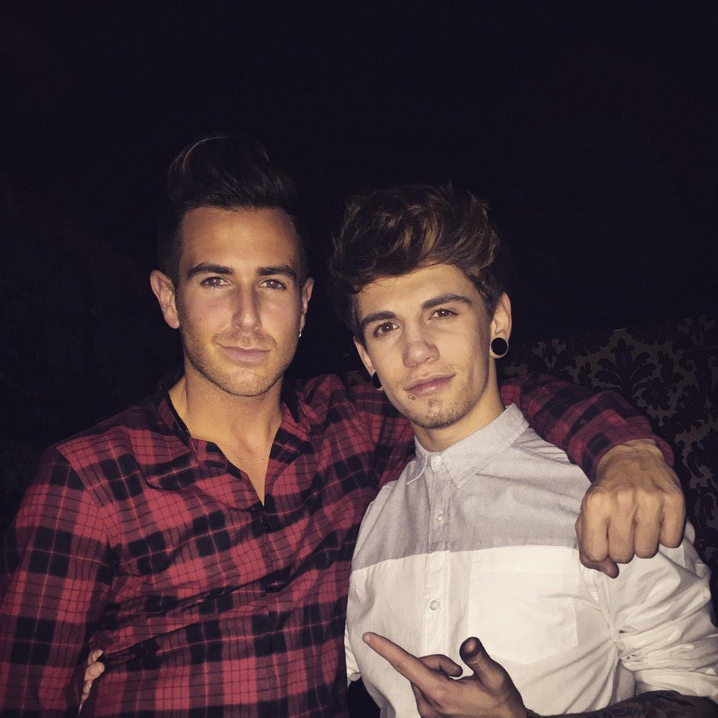 Me & @JakeSims turnt up!