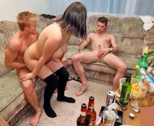 после пива русское порно