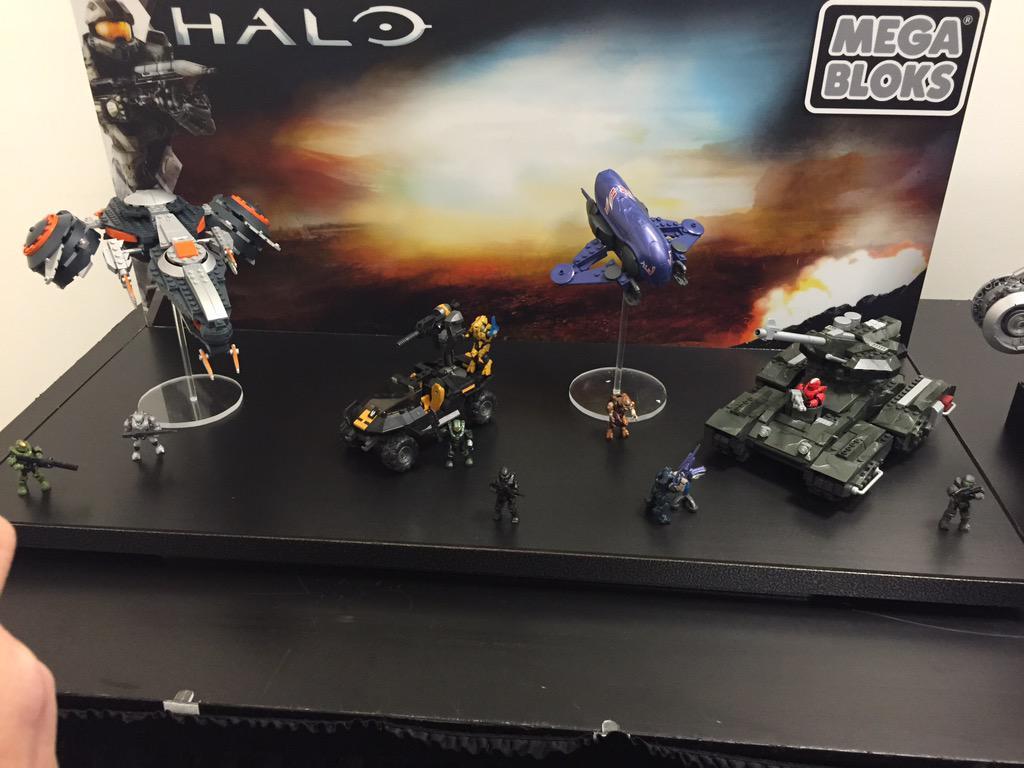 Halo Mega Bloks Falcon Instruction Manual