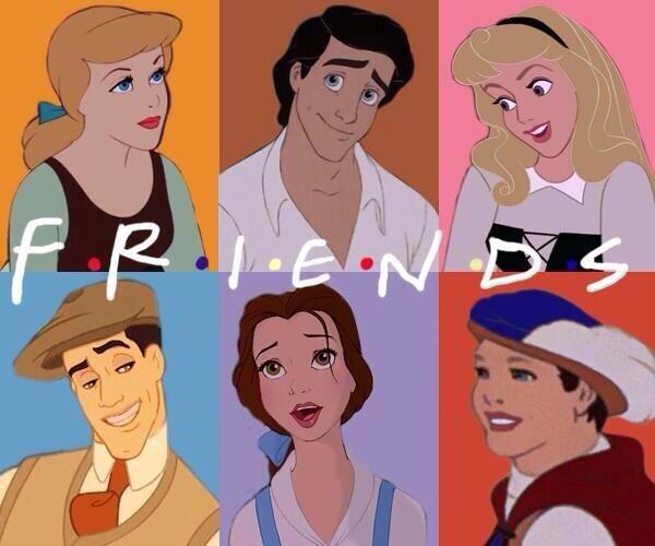 """F I N D S: F.R.I.E.N.D.S Fan On Twitter: """"If The #FRIENDS Characters"""