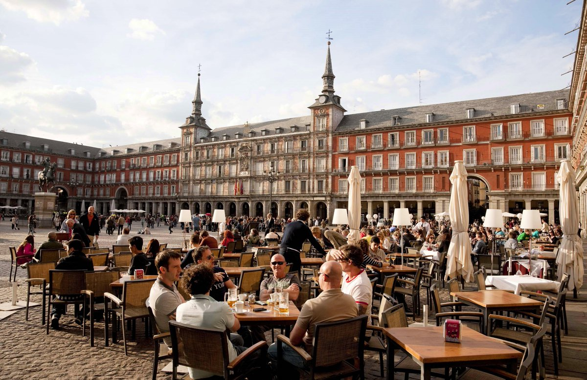 Image result for la plaza mayor de madrid