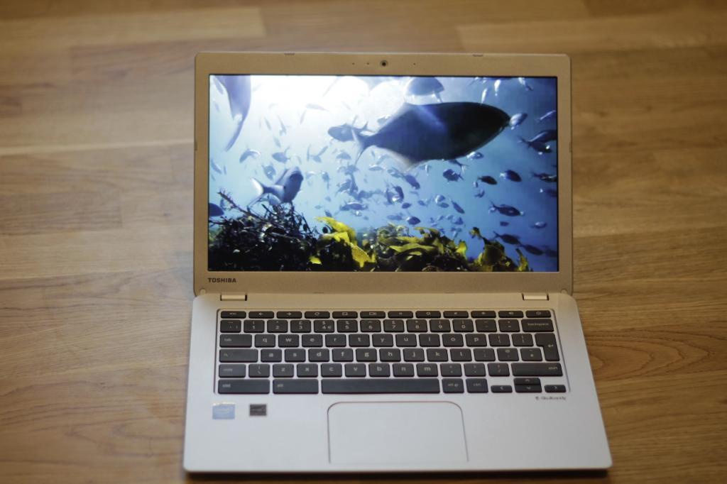 Review: Toshiba's Chromebook 2