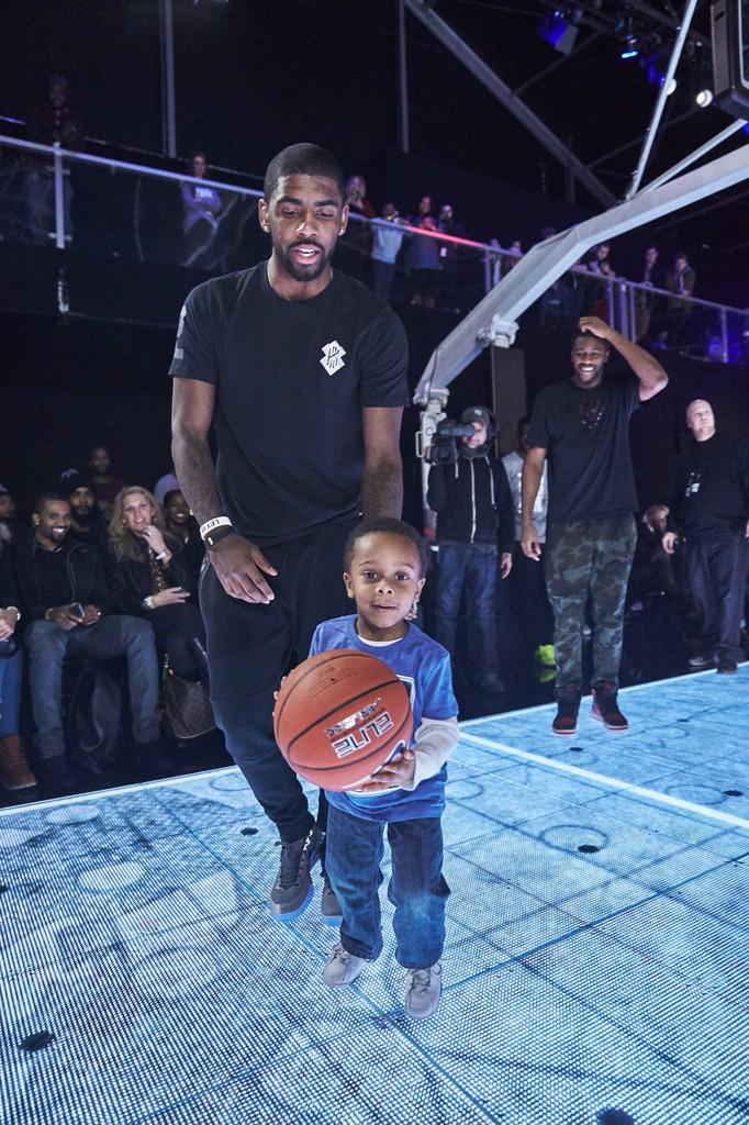 When you hit @Nike Zoom City and your son steals the ball from @KyrieIrving then poses for the camera! http://t.co/GRoUVJF86T